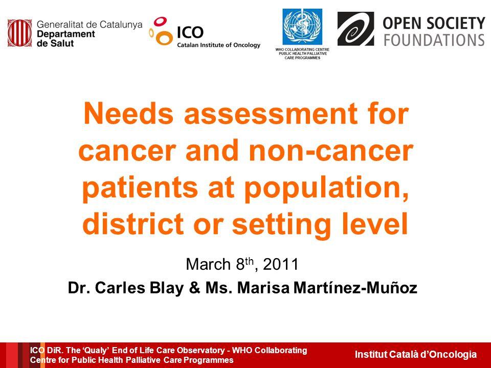 Institut Català d'Oncologia ICO DiR.