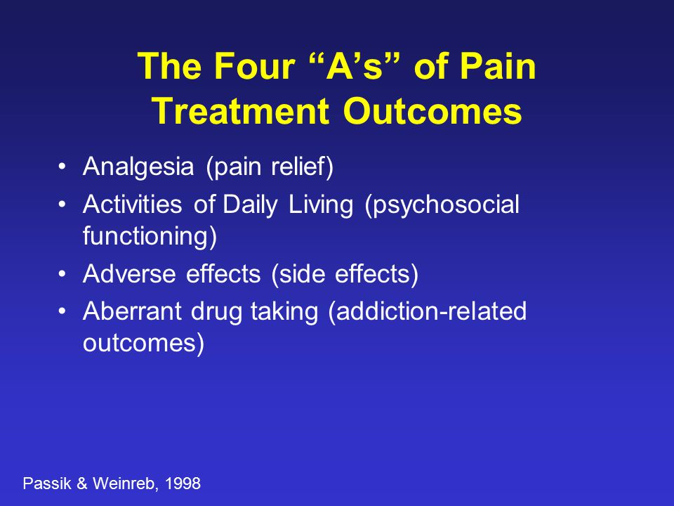 NIDA Study: Adherence Therapy for Opioid Abusing Pain Patients Haller D.