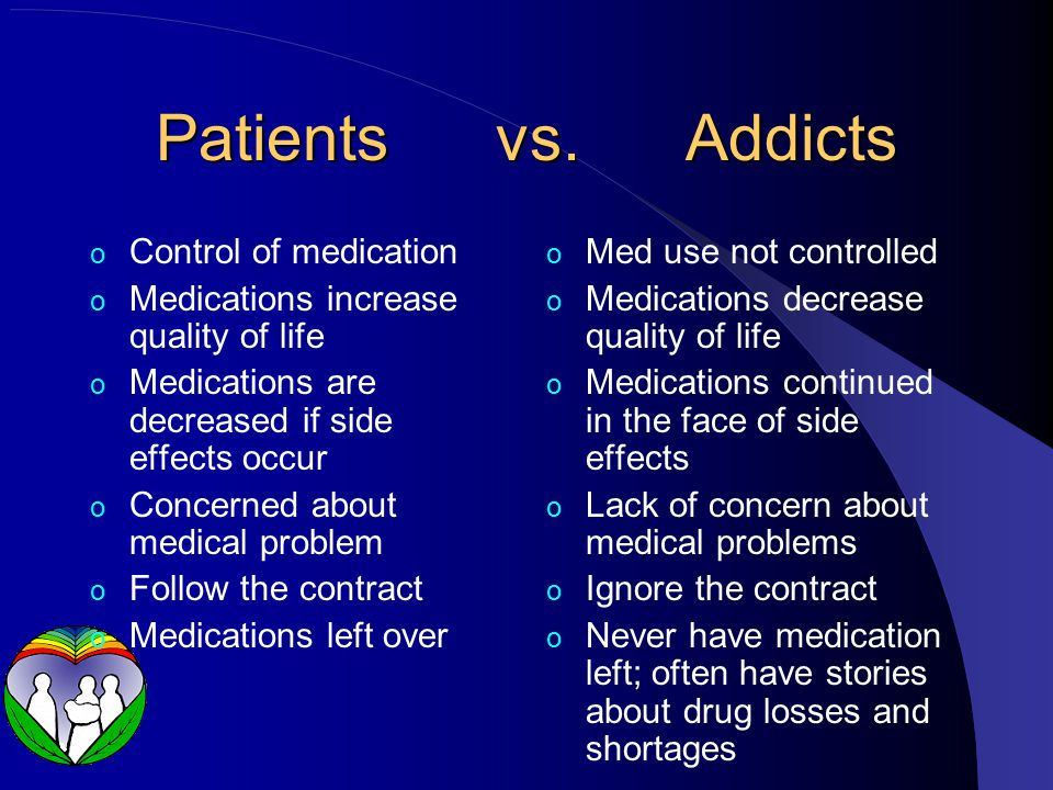 Patients vs.