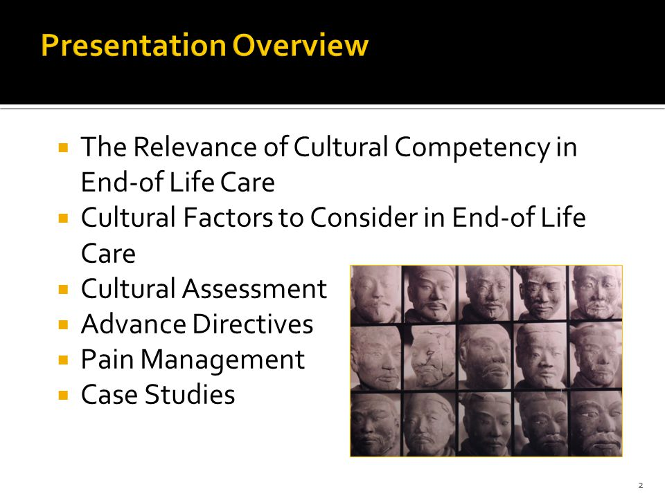 23  Assessment – Explanatory Model (Kleinman)  What do you call your pain.