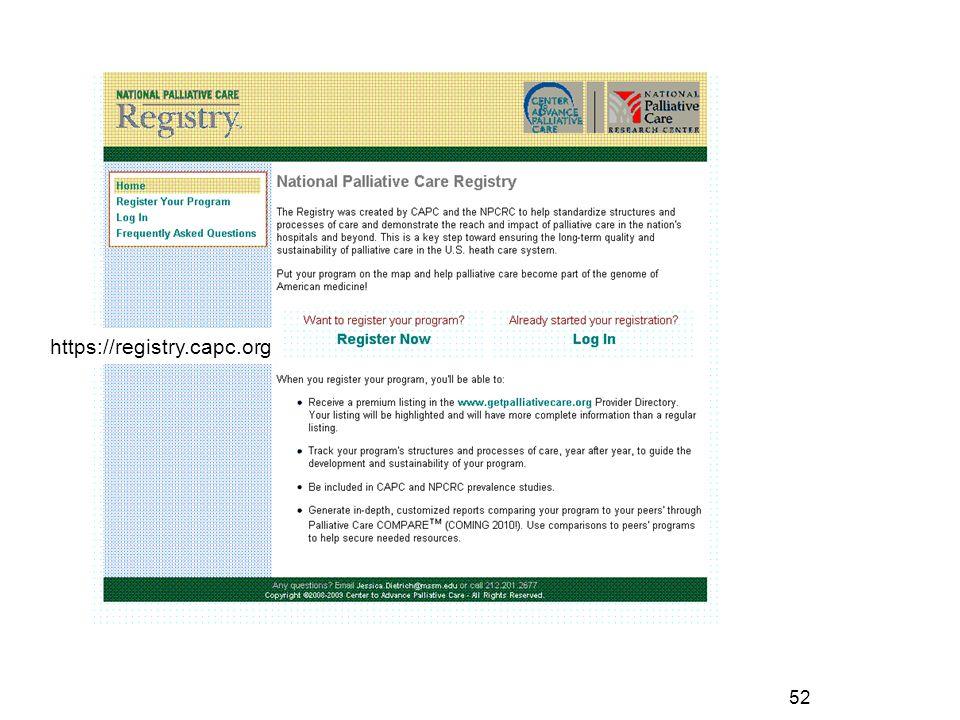 https://registry.capc.org 52