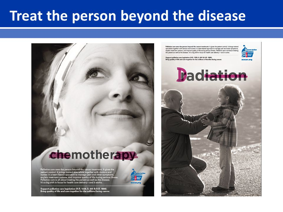 Treat the person beyond the disease