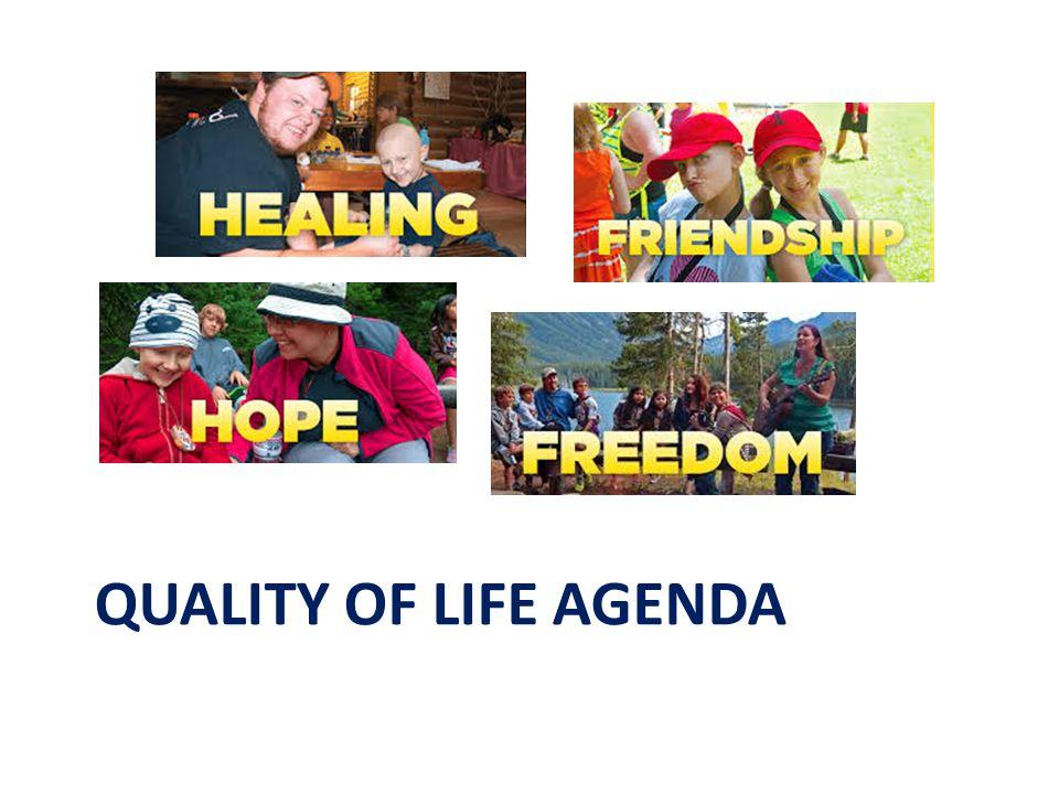 QUALITY OF LIFE AGENDA