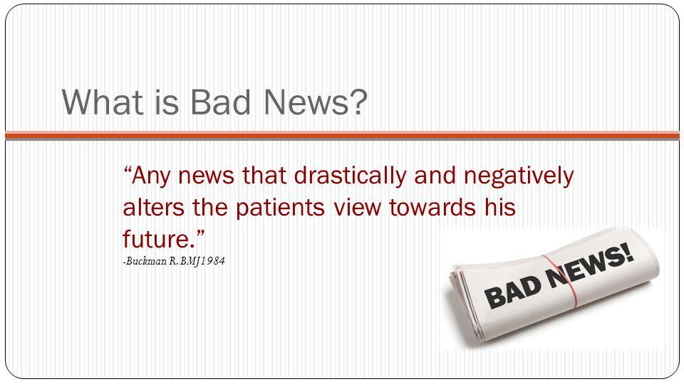 Steps of breaking bad news: Rabow & Mcphee (West J.