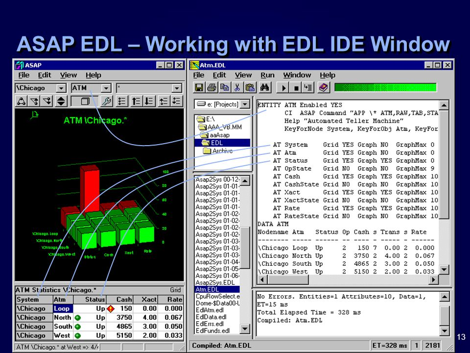 13 ASAP EDL – Working with EDL IDE Window