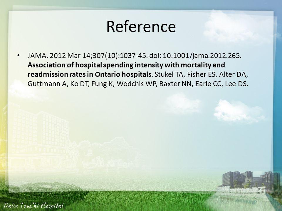 Reference JAMA. 2012 Mar 14;307(10):1037-45. doi: 10.1001/jama.2012.265.