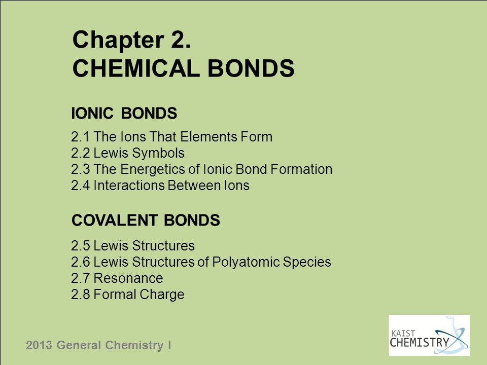 2013 General Chemistry I THE PERIODICITY OF ATOMIC PROPERTIES 39