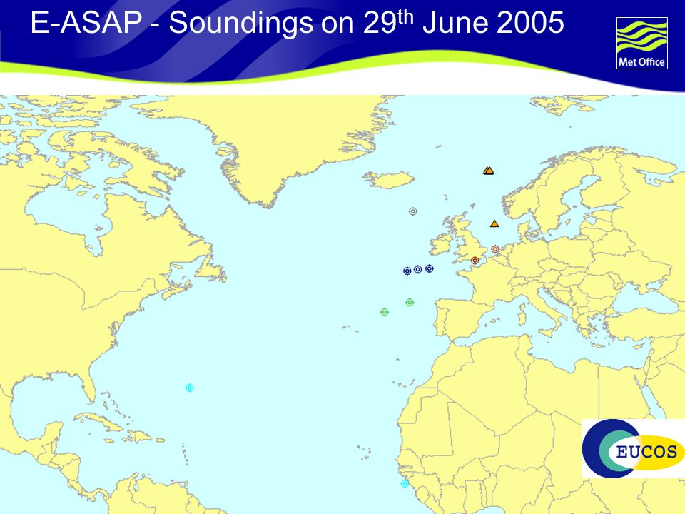 Page 35© Crown copyright 2004 E-ASAP - Soundings on 29 th June 2005