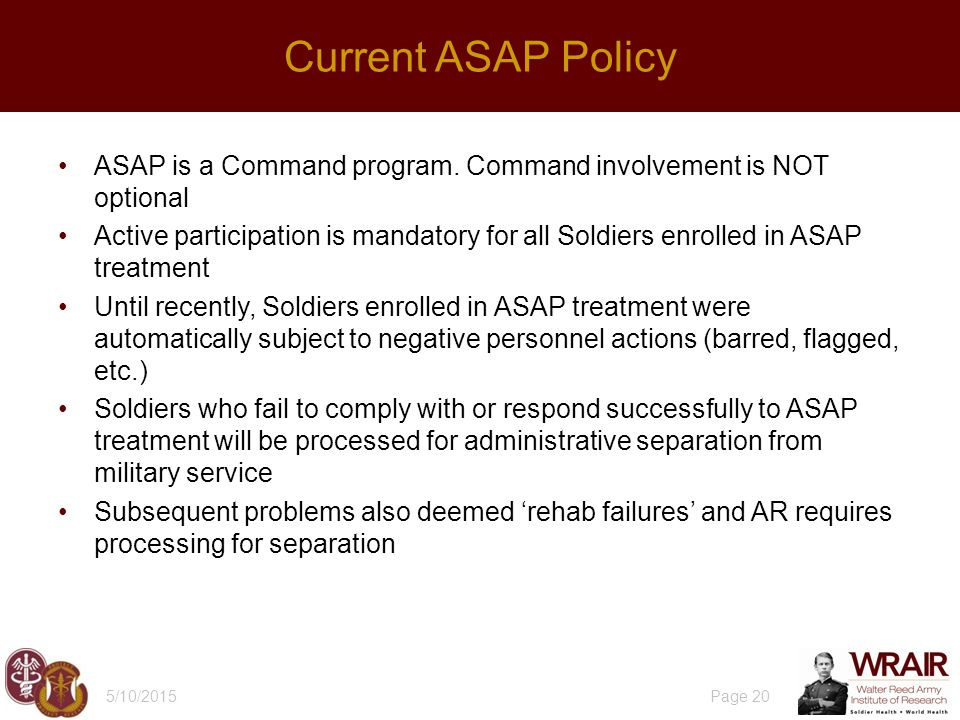 ASAP is a Command program.