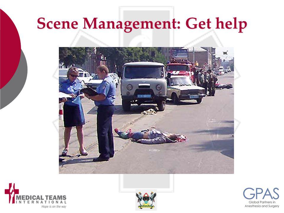 Scene Management: Get help