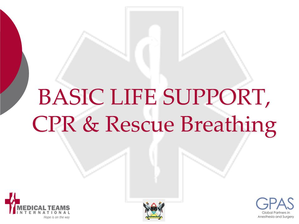 BASIC LIFE SUPPORT, CPR & Rescue Breathing