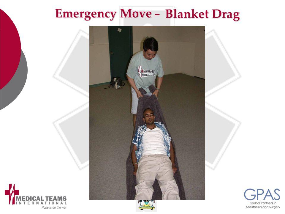 Emergency Move Blanket Drag