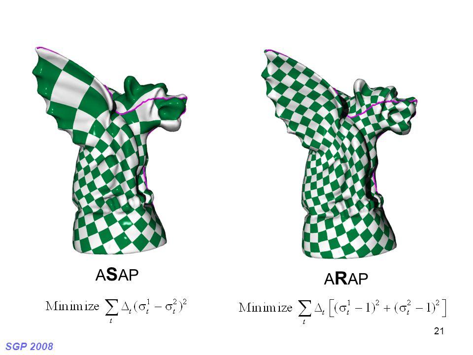 SGP 2008 21 A S AP A R AP