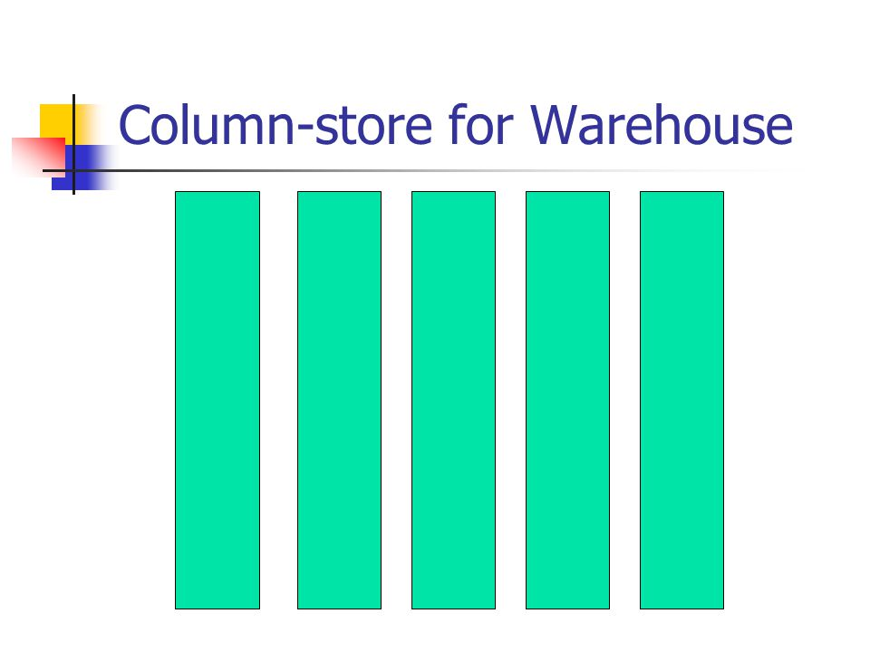 Column-store for Warehouse
