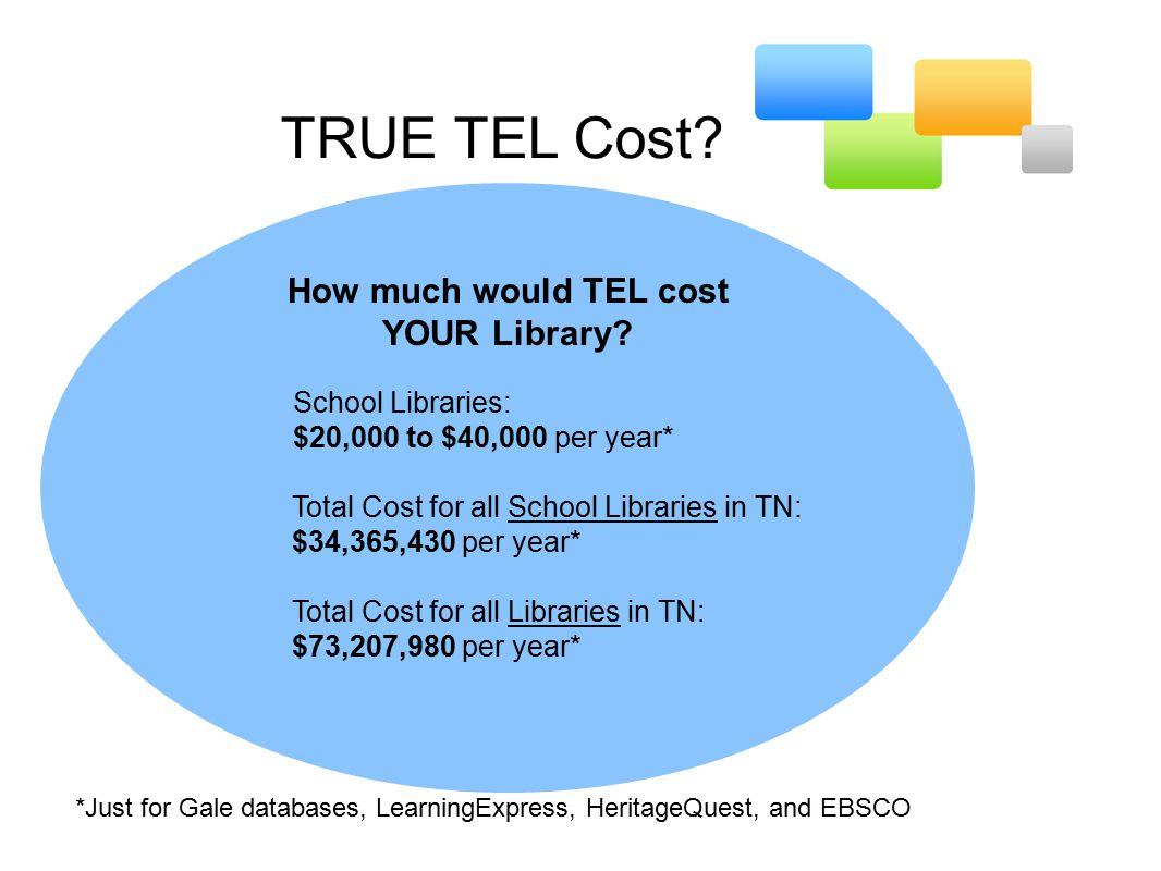 TRUE TEL Cost.