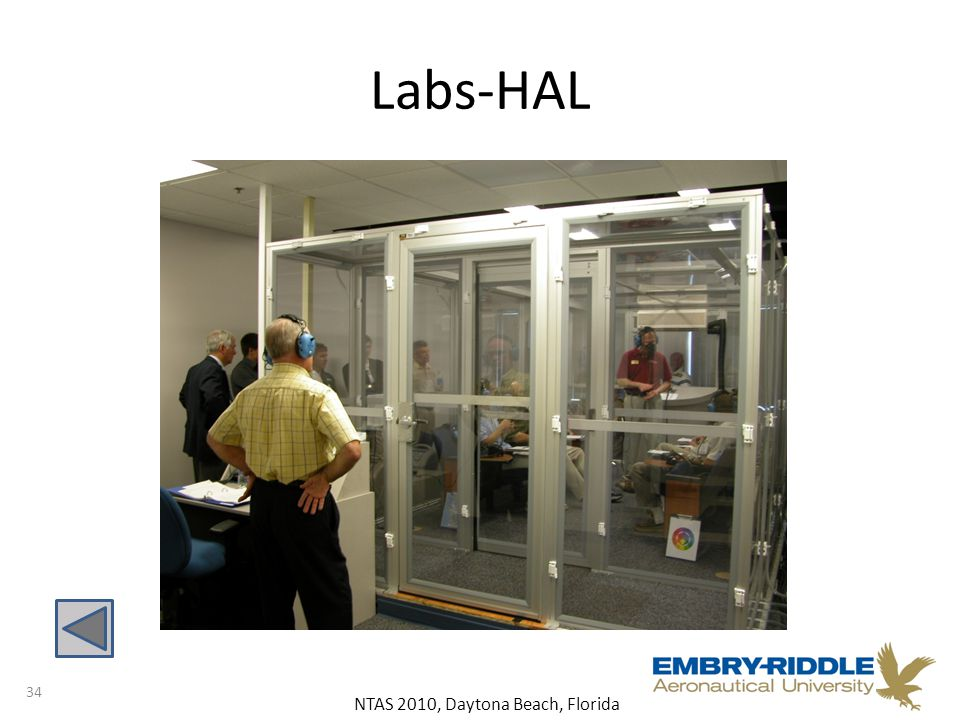 NTAS 2010, Daytona Beach, Florida Labs-HAL 34