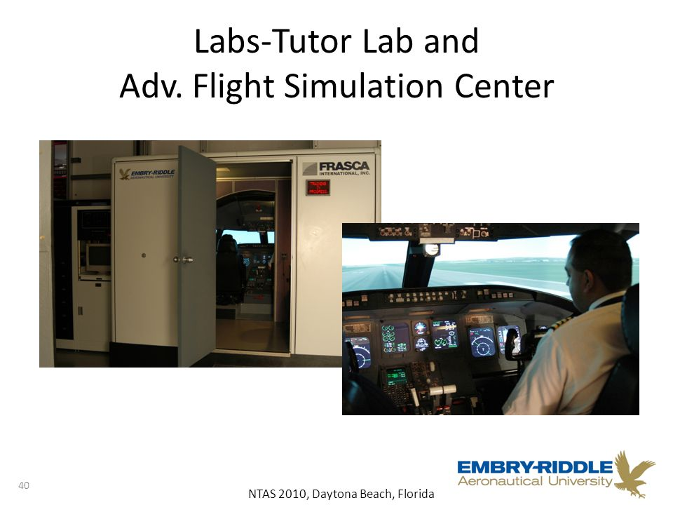 NTAS 2010, Daytona Beach, Florida Labs-Tutor Lab and Adv. Flight Simulation Center 40