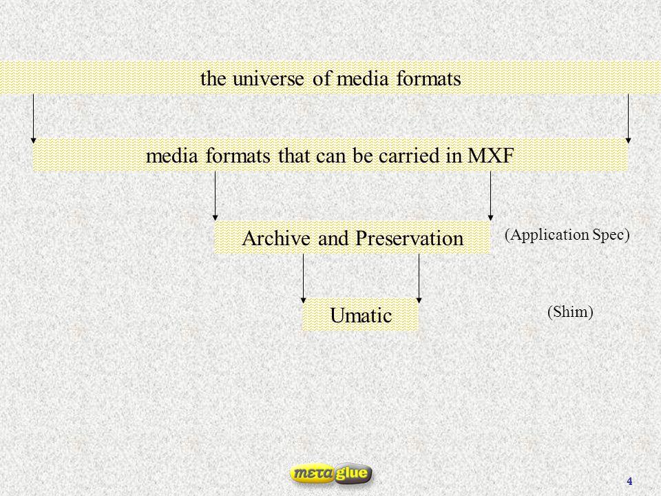 15 AS-03 File (MXF OP1a) MasterMob V1 A2 A1 TC 23 24 00 01 02 03 AX DM UMID EssenceData UMID FileSourceMob V1 A2 A1 TC 23 24 00 01 02 03 AX DM UMID