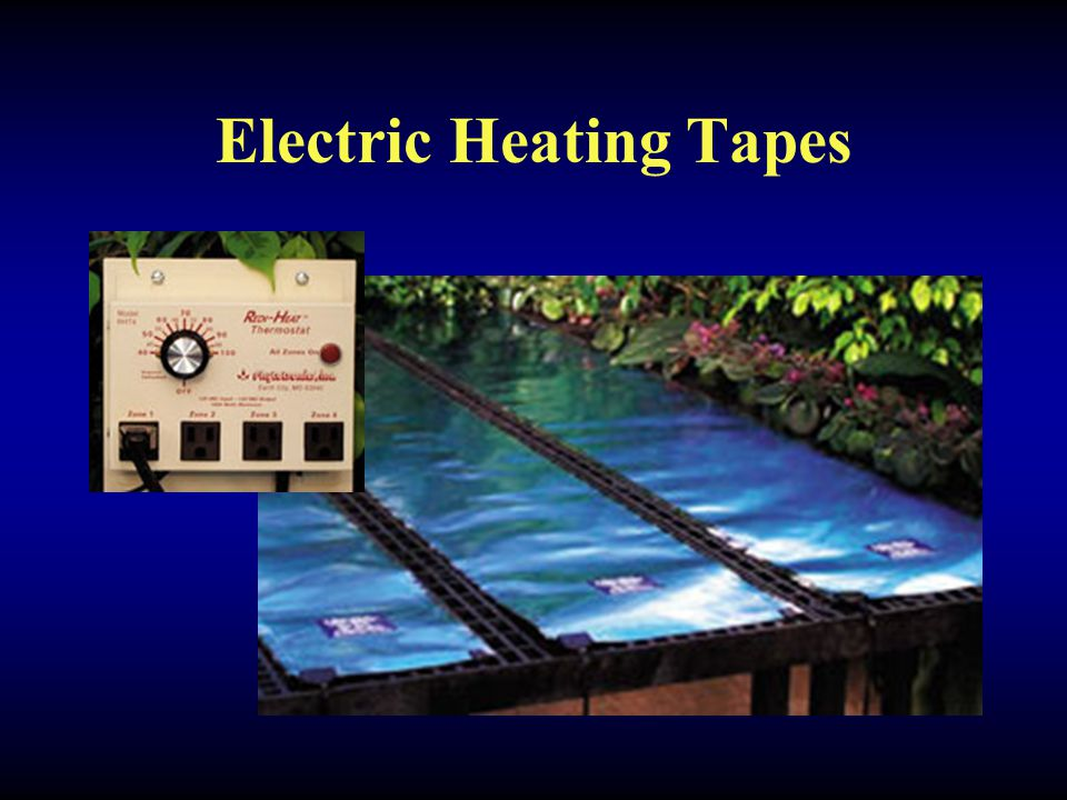 Electric Heating Tapes