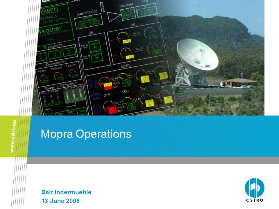 Mopra Operations Balt Indermuehle 13 June 2008