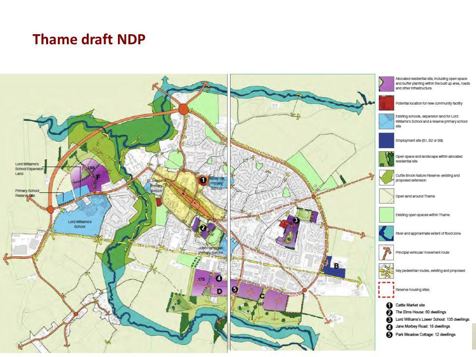Thame draft NDP