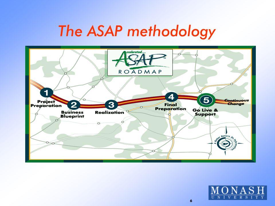 6 The ASAP methodology