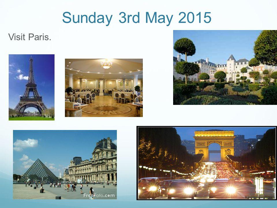 Visit Paris.
