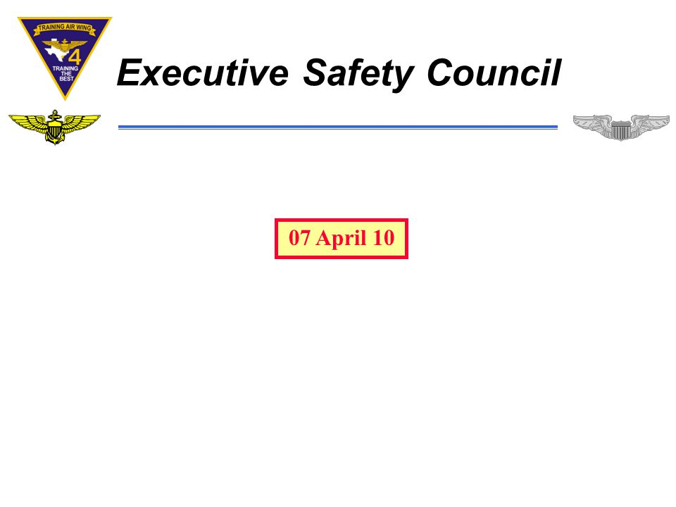 Executive Safety Council 07 April 10
