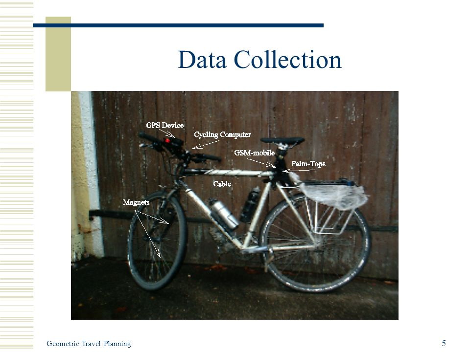 Geometric Travel Planning 5 Data Collection