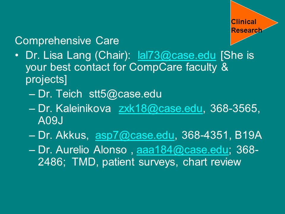 Comprehensive Care Dr.