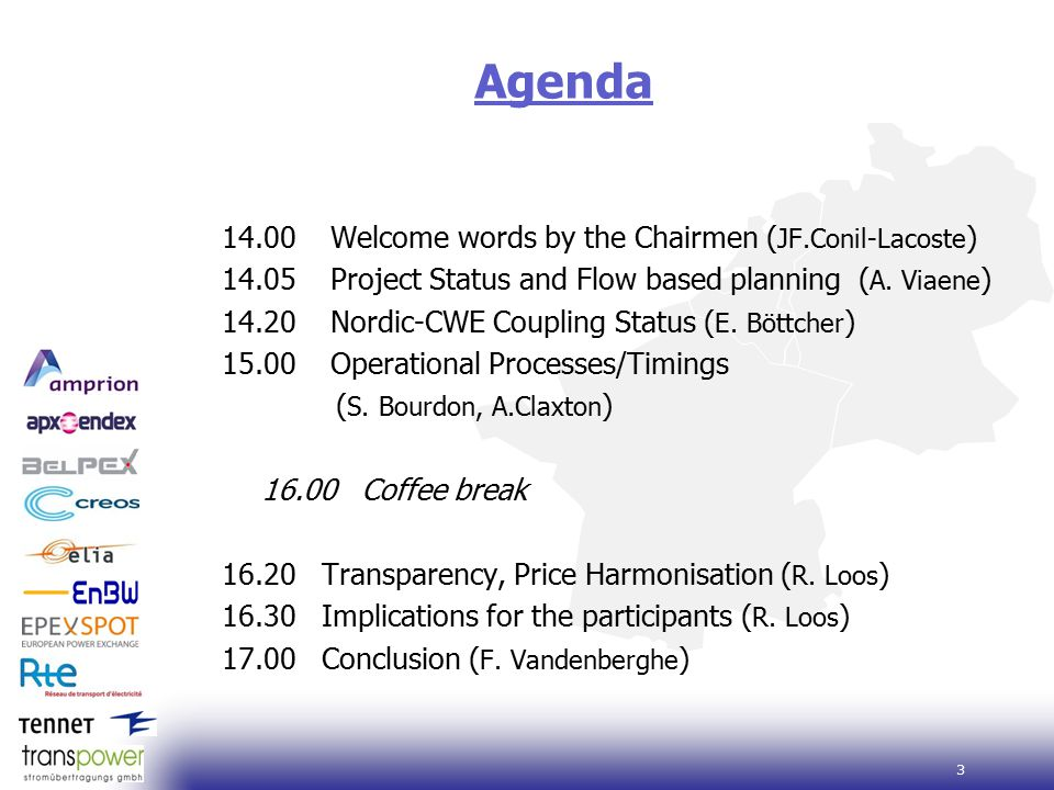 4 Project Status and Flow Based Planning A. Viaene 1