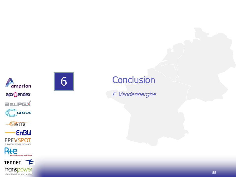 55 6 Conclusion F. Vandenberghe