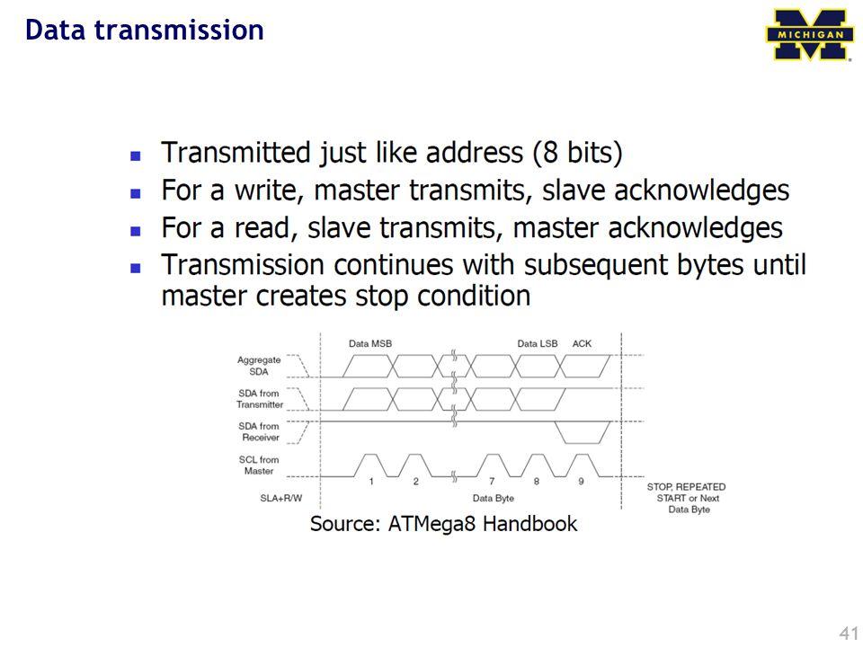 Data transmission 41