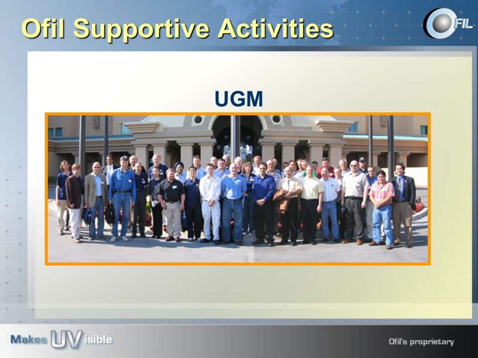 UGM Ofil Supportive Activities