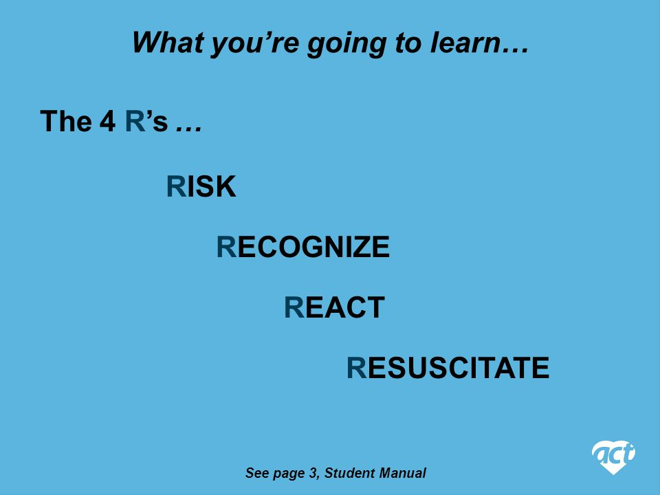 One Rescuer CPR – Adult Step 1.Check for hazards Step 3.