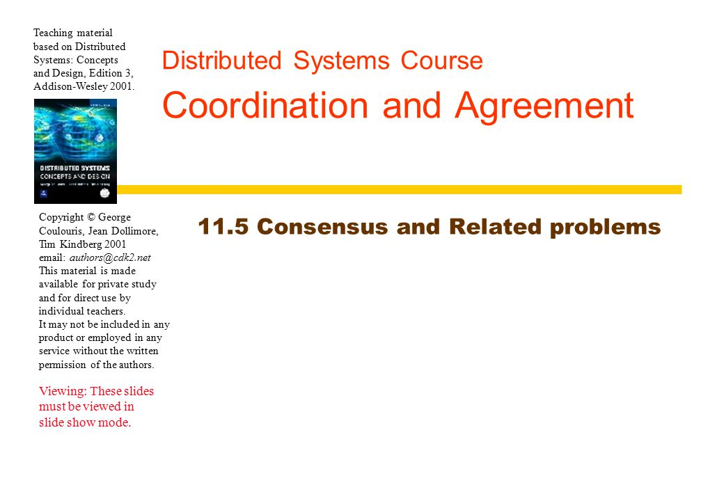Impossibility of 1-resilient 3-processor Agreement 23 A:V A =0 B:V B =0 C:V C =0 A´:V A´= 1 B´:V B´ =1 C´:V C´ =1 E1E1