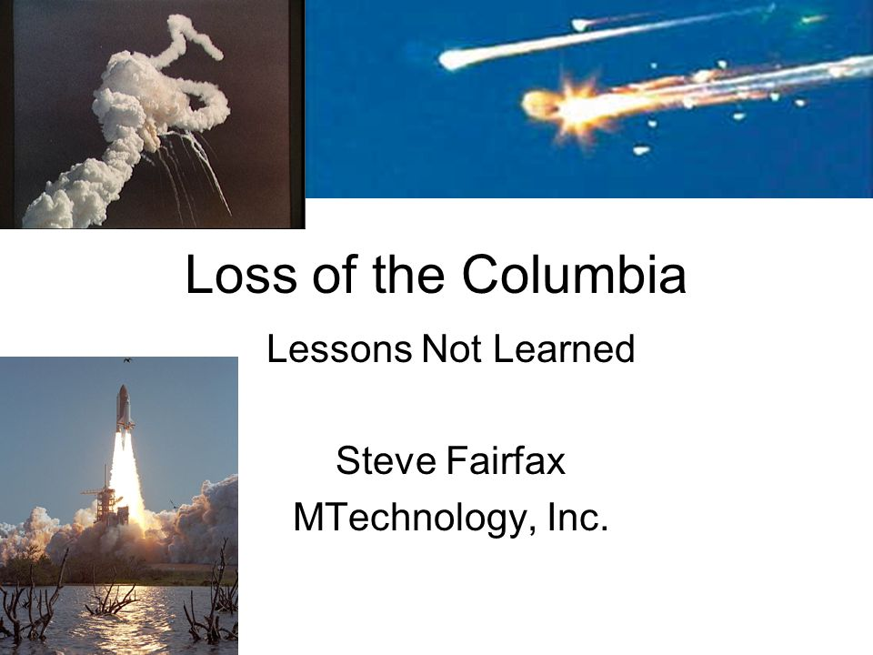 Recommendations from the Challenger Loss Change design with independent oversight and review Change in management practices Criticality Review and Hazard Analysis Establish independent safety organization Improved communications Avoid reliance on shuttle alone