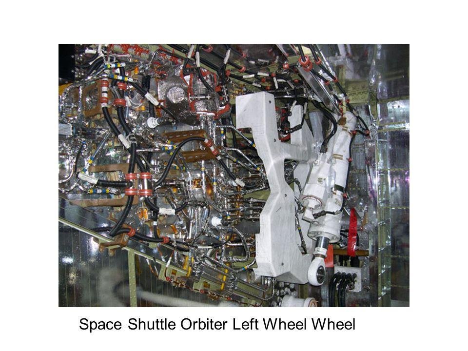 Space Shuttle Orbiter Left Wheel Wheel