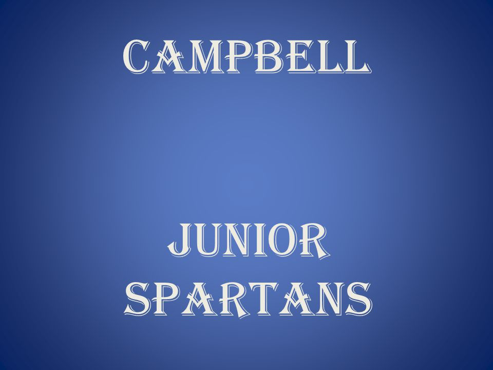 CAMPBELL JUNIOR SPARTANS