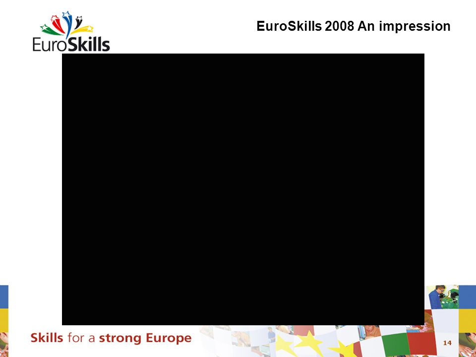 14 EuroSkills 2008 An impression