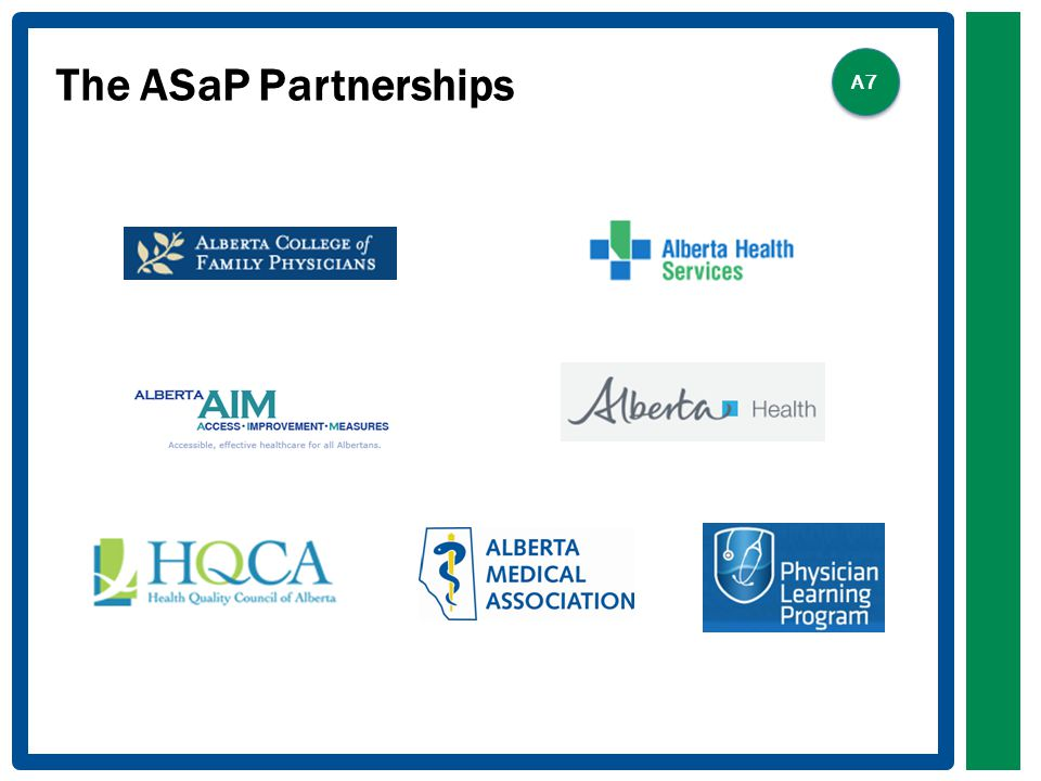 The ASaP Partnerships A7