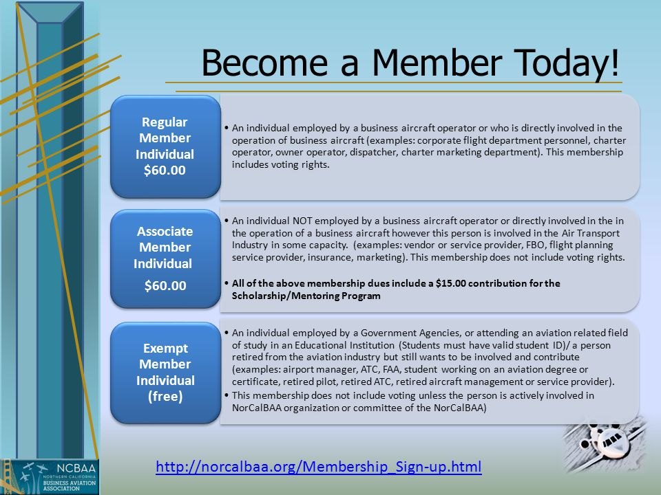 Become a Member Today.