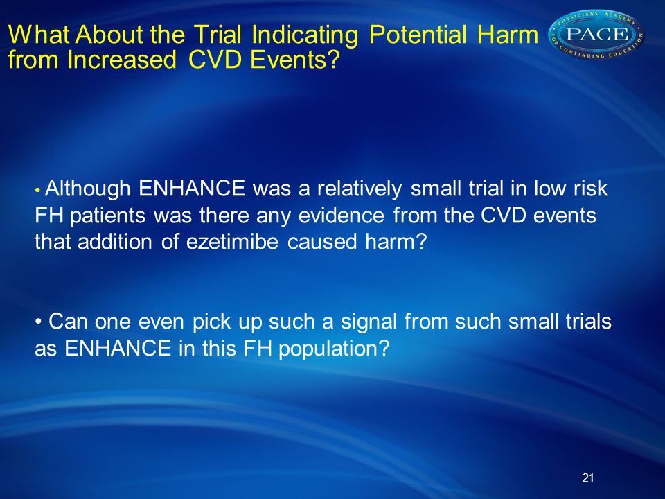 What About the Trial Indicating Potential Harm from Increased CVD Events.
