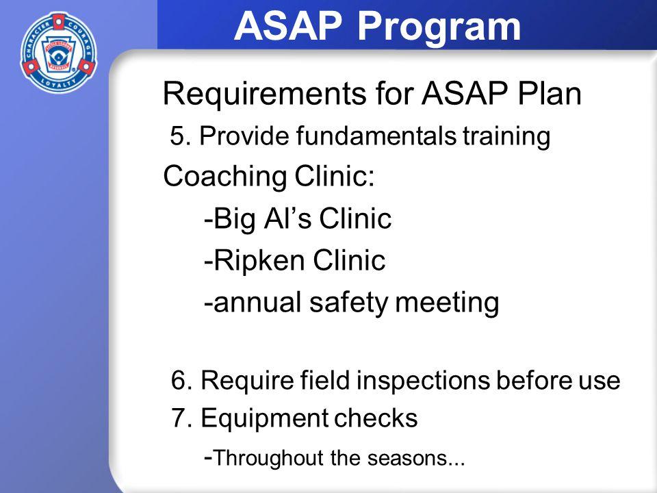 ASAP Program 5.
