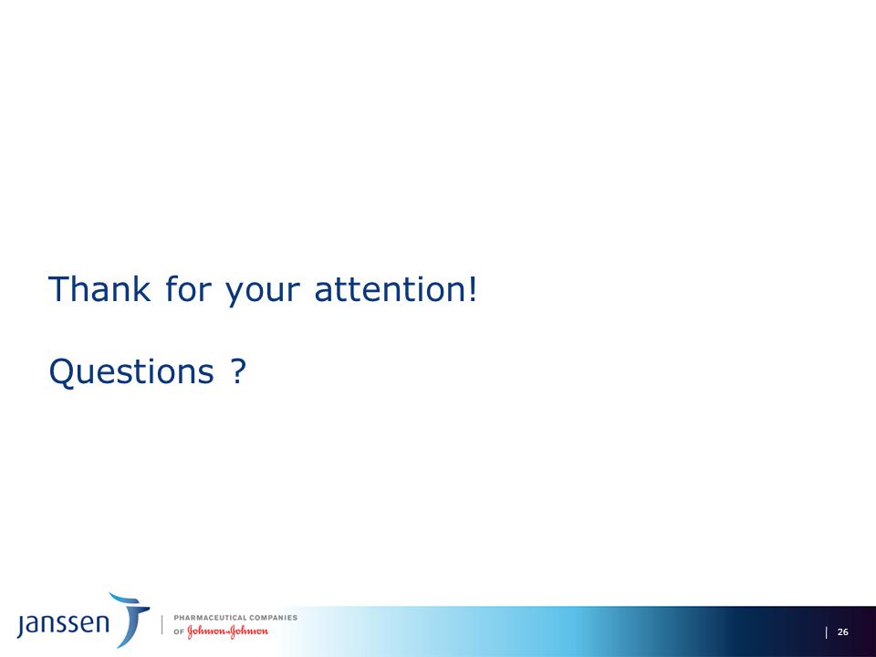 Thank for your attention! Questions ? 26