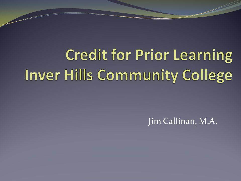 Jim Callinan, M.A.