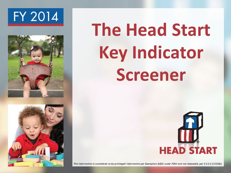 Welcome & Agenda Welcome What is the Head Start Key Indicator (HSKI) Screener How the HSKI Screener will be implemented How to prepare for the HSKI Screener
