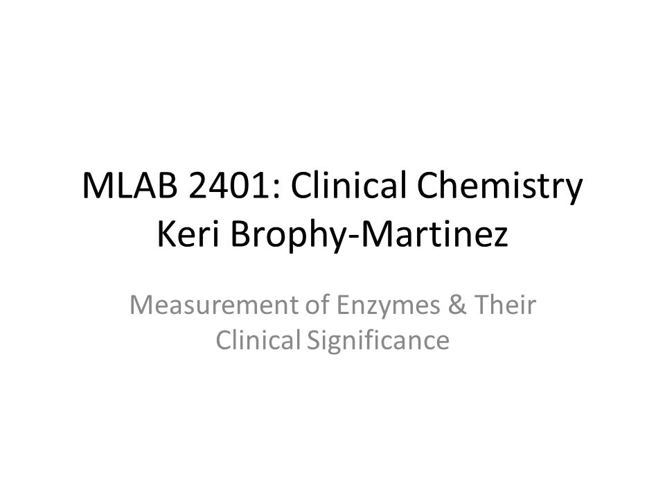 Measurement of Enzyme Activity Often measured by catalytic activity then related to concentration Enzyme concentration is best measured by its activity or its rate of activity by observing: – Substrate depletion – Product production – Increase/decrease in cofactor/coenzyme Usually performed in zero-order kinetics