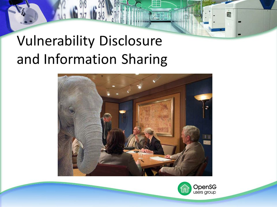 Vulnerability Disclosure and Information Sharing