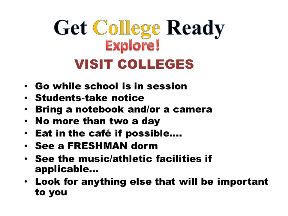 Go while school is in session Students-take notice Bring a notebook and/or a camera No more than two a day Eat in the café if possible….